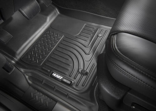 HUSKY WeatherBeater Floor Mats Front for Chevy Silverado GMC Sierra 1500 2500 35