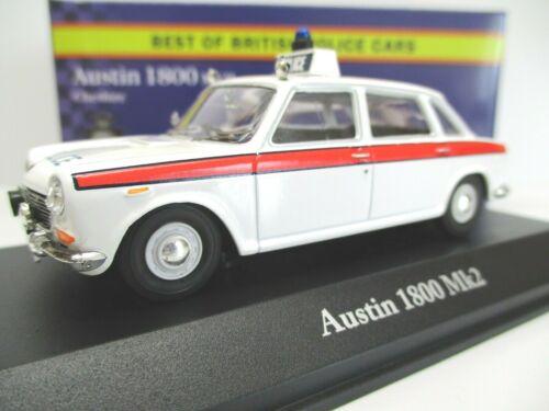 Atlas Editions 1//43 Austin 1800 MKII Chesire Police-blanc 4650107