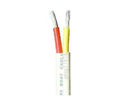 16//2 AWG Gauge Duplex Cable Tinned Marine Wire 10 up to 500 Feet