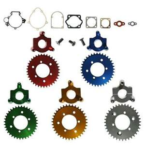 CNC-36-Tooth-Plate-amp-Adaptor-Set-w-Gasket-Set-80cc-Motorized-Bicycle-Bike
