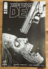 WALKING DEAD #1 Pittsburgh Wizard World Comic Con Exclusive Variant 2015 SKETCH