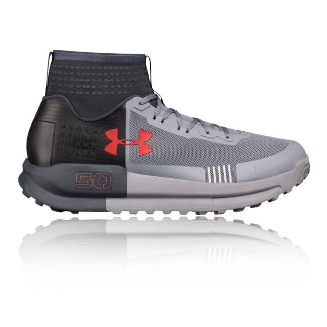 Men S Under Armour Ua Horizon 50 Shoes Gray Black Sms Sample Size 9