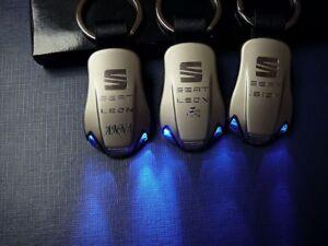 SEAT-LED-Llaveros-ATECA-Ibiza-FR-Leon-FR-Altea-XL-Toledo-Cupra-FR-ST-R-Mii-KEY