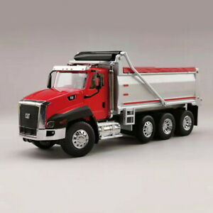 NORSCOT-1-50-Scale-Caterpillar-Cat-CT660-DUMP-TRUCK-Red-Diecast-Model-55502