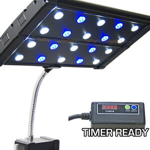 evo clip 3w timer ready led aquarium light nano 87856