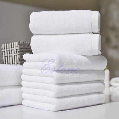 New 1Pc Soft 100% Cotton 35*70cm Hotel Bath Towel Washcloths Hand Towels