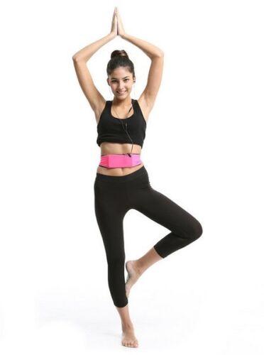 Unisexe Taille Exercice Fitness Running Sac Ceinture pour Clés Téléphones Cartes Cash