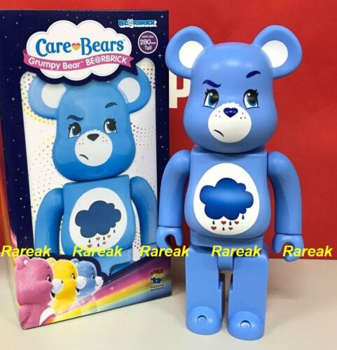 Medicom 2017 Be@rbrick America Greeting 400/% Care Bears Grumpy Bear Bearbrick 1p