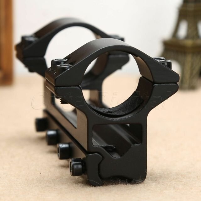 Hunting High Porfile 1inch 25.4mm Dual Ring Scope Rifle Mount 11mm Dovetail Rail