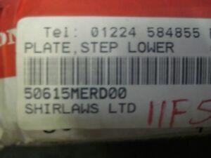 Honda-CBF-600-1000-50615-MER-D00-Footrest-wt-sits-under-peg-2006-10-N-O-S