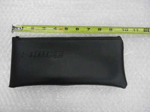 "10/""x4/"" Shure small pouch for body pack or wire microphone"