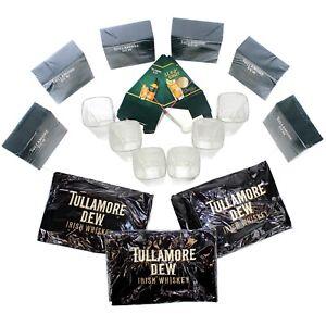 TULLAMORE-Dew-Whisky-Glaeser-Set-Gastropaket-Glas-Schuerze-Servietten-709047-6j1l