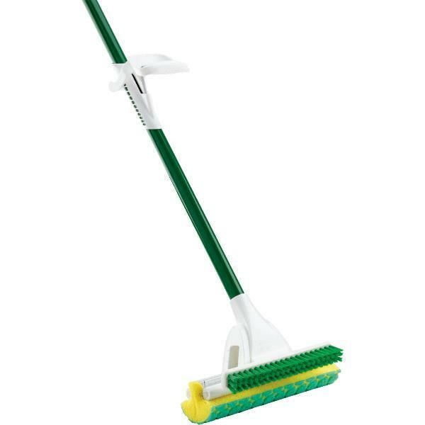 2 Pk Libman 10  Wide Head 51  Long Nitty Gritty Roller Sponge Mop 2010