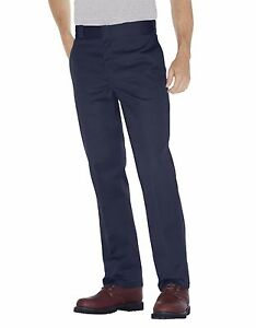 Dickes-Men-039-s-Navy-Blue-Work-Pants-874-Original-Fit-Sizes-30-to-44