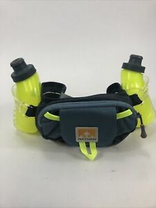 Nathan-Trail-Mix-Plus-Two-Bottle-And-Pouch-Hydration-Belt-EUC