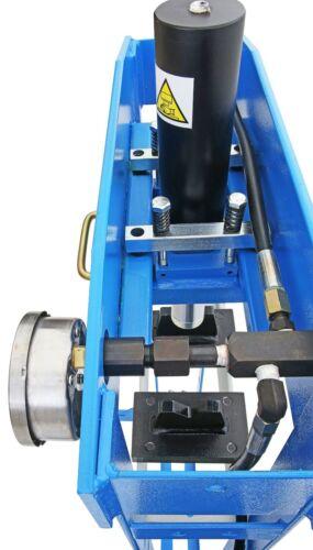 Fußpedal+Handhebel Industriepresse 20000kg 20t Werkstattpresse Bedienung