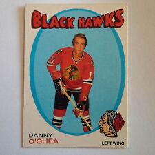 1971-72 OPC O-Pee-Chee #211 Danny O'Shea Chicago Blackhawks - EX-MT