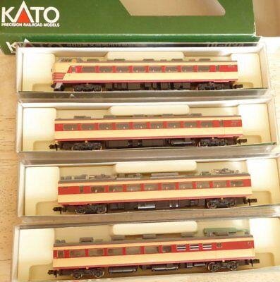 Capace Kato 10-034 Scala N Jnr Ltd.limitato Express Serie 489 Jr Automotrici Elettriche