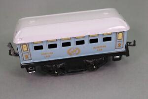 Romantique Zb807 Hachette Hornby Train O 40 2381m Voiture Lits Classe 2 Brillant En Couleur