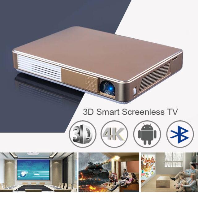 7000 Lumens 3D DLP Android Wifi Smart Full HD 1080P Video Projector HDMI/TF/USB