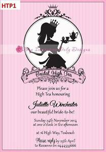high tea invitations bridal high tea shower tea tea party 12