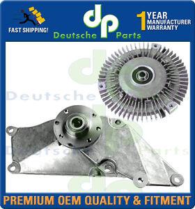 MERCEDES W124 300 E CE TE E-CLASS Radiator Fan Clutch & fan Bearing Bracket SET