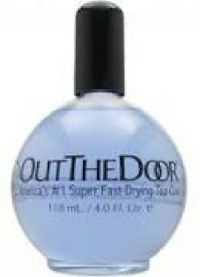 INM OUT OF THE DOOR REFILL TOP COAT - Fast dry Top Coat . 4 oz