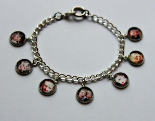 Anniversaire Cadeau Mamie vos photos Maman Personnalisé Charme Photo Bracelet