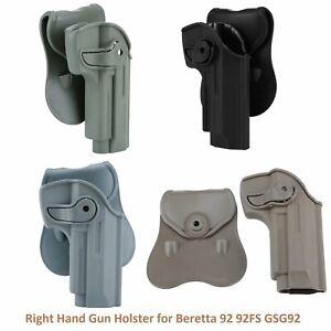 M92 Series Right Hand Gun Holster for Beretta 92 / 92FS GSG92 Girsan