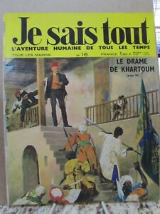 Vintage Rare FRENCH MAGAZINE Je sais tout Popular Science ...Rhere Popular Magazine