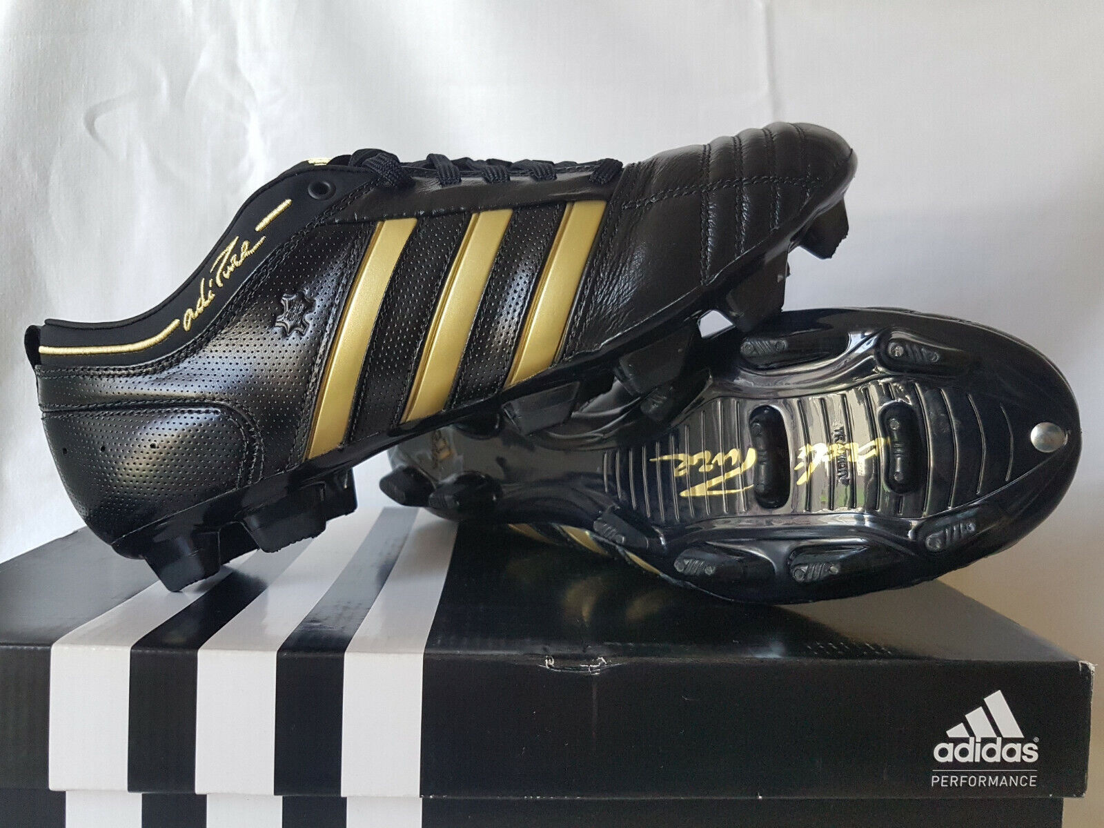 Adidas AdiPure II TRX FG K-leather football schuhe soccer G00795, US 7.5 UK 7