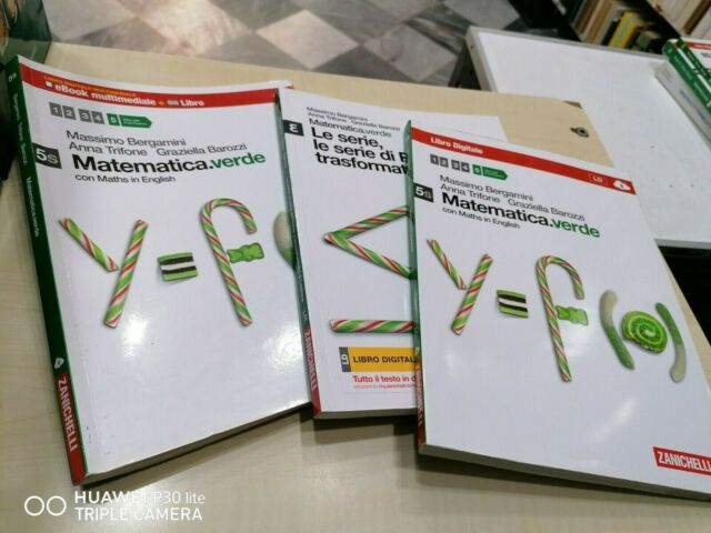 Matematica.verde. Con Maths in english. Vol. 5S. Con Epsilon.verde. -