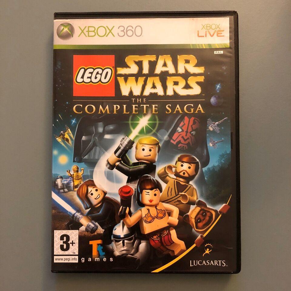 LEGO Star Wars The Complete Saga, Xbox 360