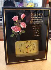 Reloj Decorativo 'Madre: Quizas El Mundo Nunca Sepa...' - Adornos Cristianos