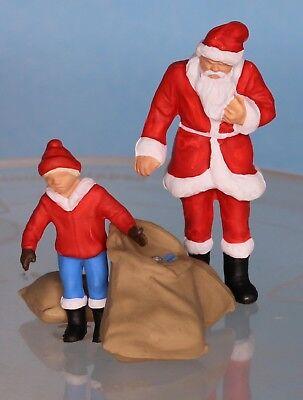 Preiser 65335 Spur O Weihnachtsmann mit Kind