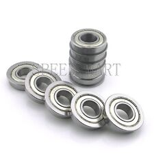 "10 pcs [FR8zz] MR8 1/2"" x 1-1/8"" x 5/16"" Metal Shielded  Flanged  Ball Bearings"
