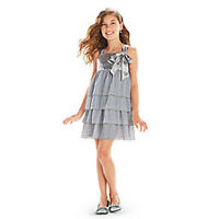American Girl Cl My Ag Silver Shimmer Dress Size 16 For Girls Holiday Gown