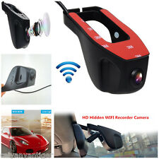 Full HD 1080P Mini Hidden Wifi Car DVR Dash Camera Video Recorder Camcorder Spy