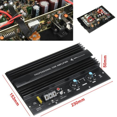 Interior Parts & Accessories 12V 1000W Car Audio Amplifier Board Good Sound Quality Black Electric Components