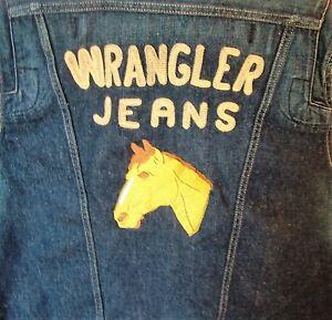 WRANGLER-giubbino-Jeans-RETRO-western-NUOVO-con-etichetta