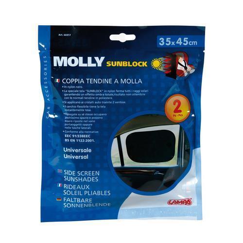 35x45 cm coppia tendine a molla Molly Sunblock
