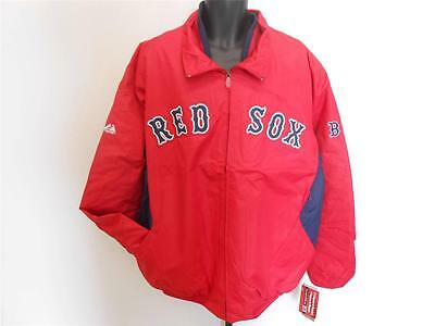 2019 Latest Design Neuf Boston Red Sox Hommes 3xl 4xl 5xl 6xl Majestic Therma Base Dugout Rouge Ample Supply And Prompt Delivery Baseball & Softball Other Baseball & Softball