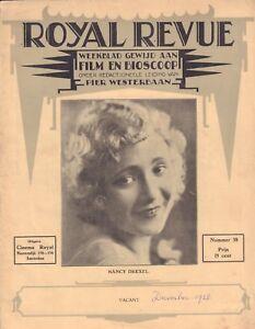MAGAZINE-ROYAL-REVUE-1928-nr-38-NANCY-DREXEL-NICK-STUART-CAROL-DEMPSTER-ROYAL