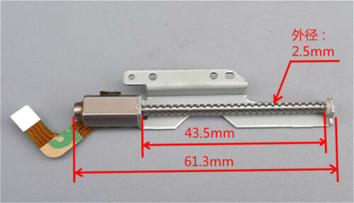 2-phase 4-wire Micro Mini Stepper Motor 43mm long linear screw lead slider 18deg