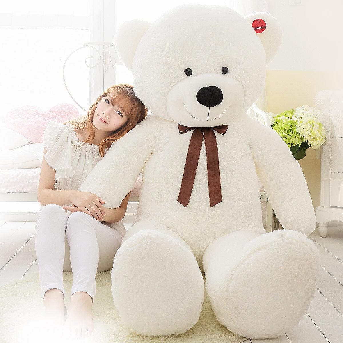 BIG STUFFED Teddy bear PLUSH doll Brand SOFT TOYS  63  GIANT HUGE LARGE 160CM