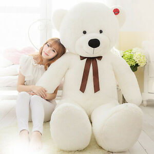 Big-Stuffed-Teddy-Bear-Plush-Doll-Brand-Soft-Toys-63-034-Giant-Huge-Large-160cm-uk