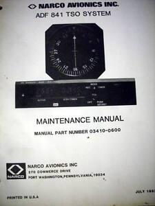 narco adf 841 tso service manual ebay rh ebay com