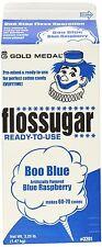 Cotton Candy Sugar Floss Boo Blue Blue Raspberry Gold Medal