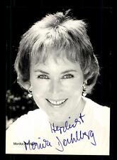 Monika Dahlberg Rüdel Autogrammkarte Original Signiert # BC 89335