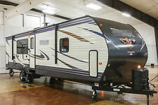 New 2017 32RKTS Rear Kitchen Bedroom Slide Out Travel Trailer Never Used Camper